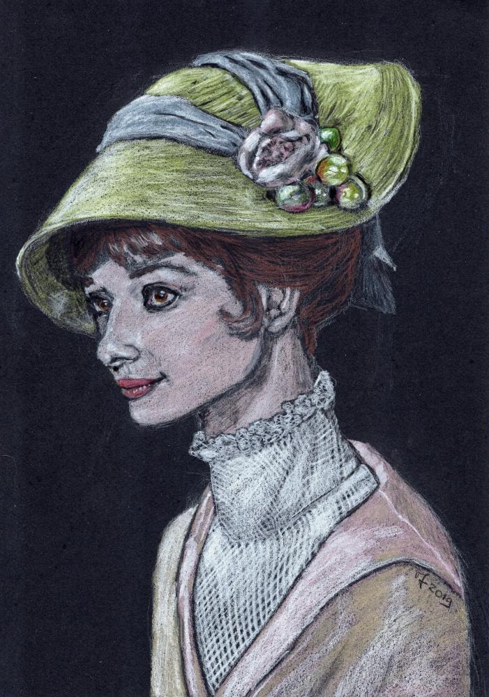 Audrey Hepburn par Vanessafari